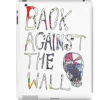 Back Against The Wall iPad Case/Skin