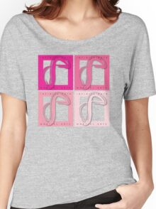 Infinite Path Martial Arts Logo - Pink Women's Relaxed Fit T-Shirt