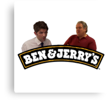 Jerry & Ben's Canvas Print