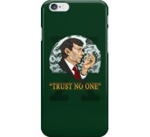 The Cigarette Smoking Man iPhone Case/Skin