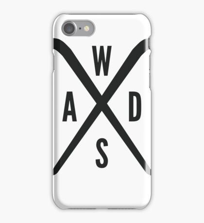 WASD Crowbar iPhone Case/Skin