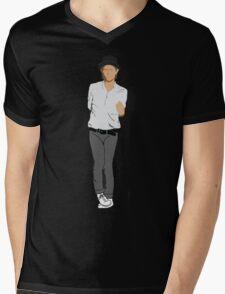 RadioThom Mens V-Neck T-Shirt