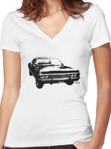 """Impala - """"Baby"""" Women's Fitted V-Neck T-Shirt"""