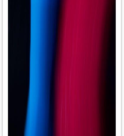 Red & Blue Stream Sticker
