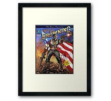 Captain Browning Framed Print