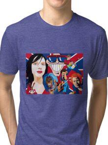 ENGLAND ROCKS AGAIN Tri-blend T-Shirt