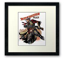 Winchester man Framed Print