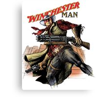 Winchester man Canvas Print