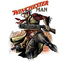 Winchester man Photographic Print