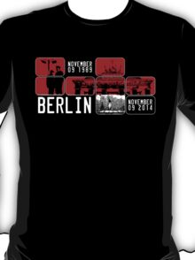 BERLIN WALL 25th Anniversary T-Shirt