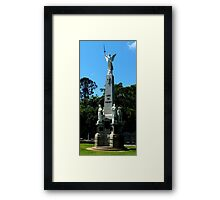 War Memorial Maryborough Qld Australia Framed Print