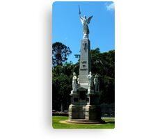War Memorial Maryborough Qld Australia Canvas Print