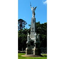 War Memorial Maryborough Qld Australia Photographic Print