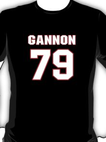 NFL Player Gannon Conway seventynine 79 T-Shirt