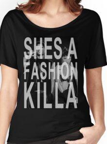 ASAP Rocky & Rihanna Fashion Killa  Women's Relaxed Fit T-Shirt