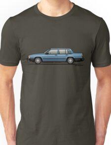 Neville's Volvo 740 744 Turbo Light Blue Metallic  Unisex T-Shirt