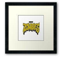 Flatbush Zombies Logo Framed Print