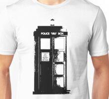 Tardis Noir Unisex T-Shirt