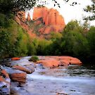Cathedral Rock and Oak Creek by aussiedi