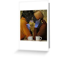 A DATE ... Greeting Card