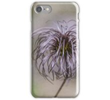 Wispy flower iPhone Case/Skin