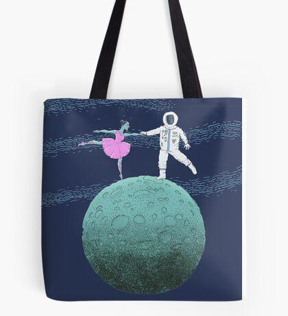Blue Moon Dance  Tote Bag