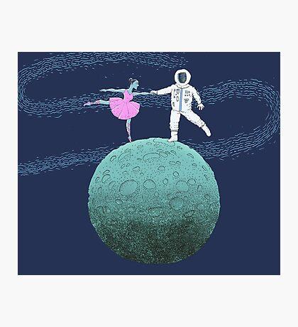 Blue Moon Dance  Photographic Print