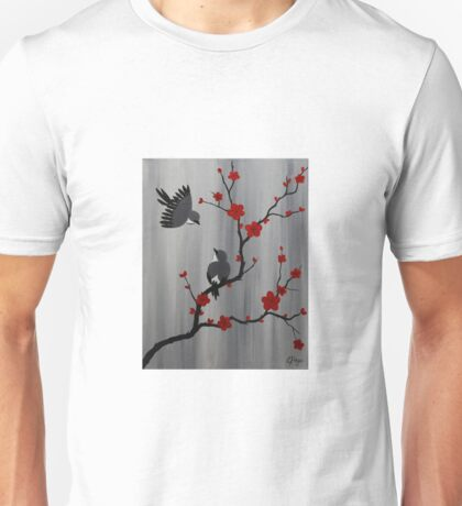 Birds and Blooms Unisex T-Shirt
