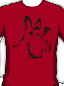 Scottie Dog Abstract Sketch T-Shirt