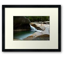 The Basin - Lincoln, NH Framed Print