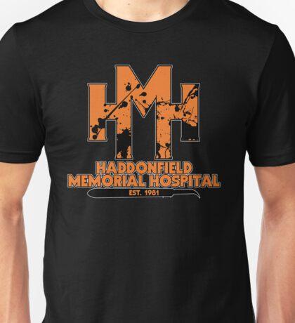 Haddonfield Memorial Hospital '81 Unisex T-Shirt