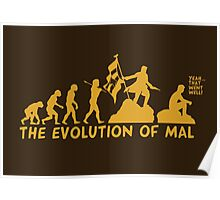 The Evolution Of Mal Poster