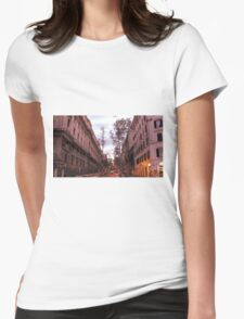 Vintage Italy Womens Fitted T-Shirt