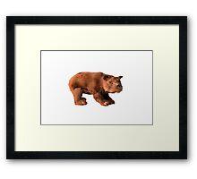Milton the Bear Framed Print