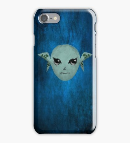 Zora Mask Paint iPhone Case/Skin