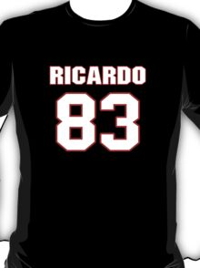 NFL Player Ricardo Lockette eightythree 83 T-Shirt