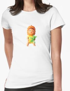 Penelope Pineapple Head Womens Fitted T-Shirt
