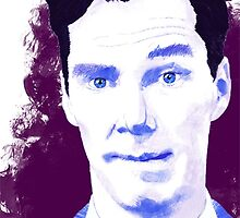 Benedict Cumberbatch by hologarithm