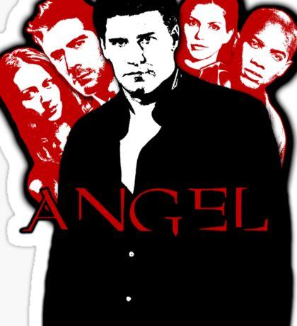 Angel Investigations: Black & Red Sticker