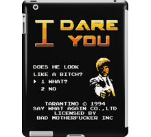I dare you iPad Case/Skin