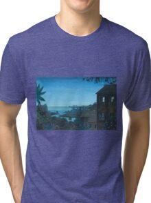 Summer Christmas Eve Tri-blend T-Shirt