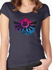 Majora's Crest 2 Women's Fitted Scoop T-Shirt