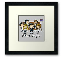 Frienuts Framed Print