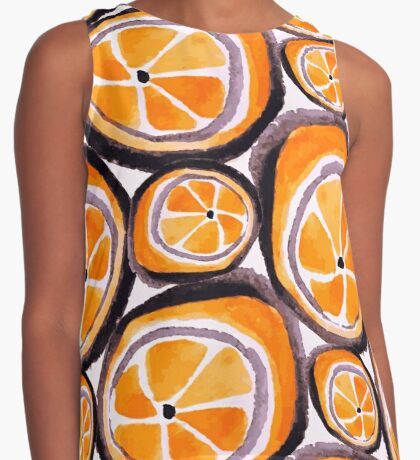 Bunch O' Oranges Contrast Tank