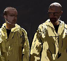 Breaking Bad - Walter White and Jesse Pinkman by sleeperu