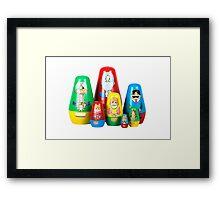 The Stevens Family Framed Print