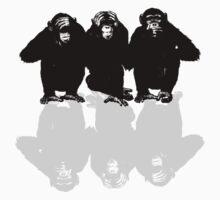 3 Monkeys by Maestro Hazer