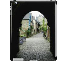 Rue De Jerzual, Dinan iPad Case/Skin