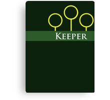 Quidditch Keeper Canvas Print