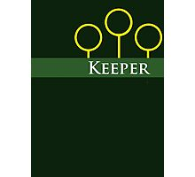 Quidditch Keeper Photographic Print